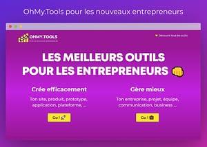 OhMy.Tools pour les nouveaux entrepreneurs